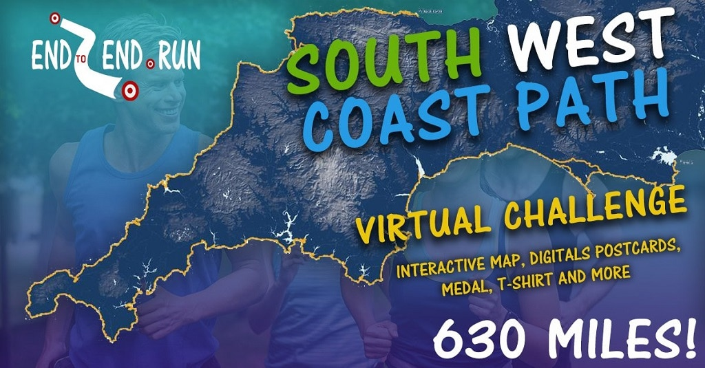 Signing up to an online virtual challenge