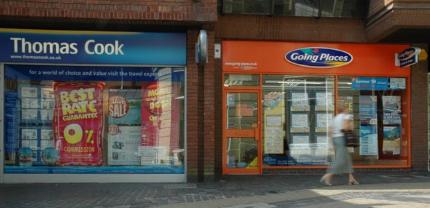 Thomas Cook and Going Places in the High Street