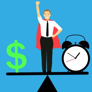 balancing time and money - freelancing