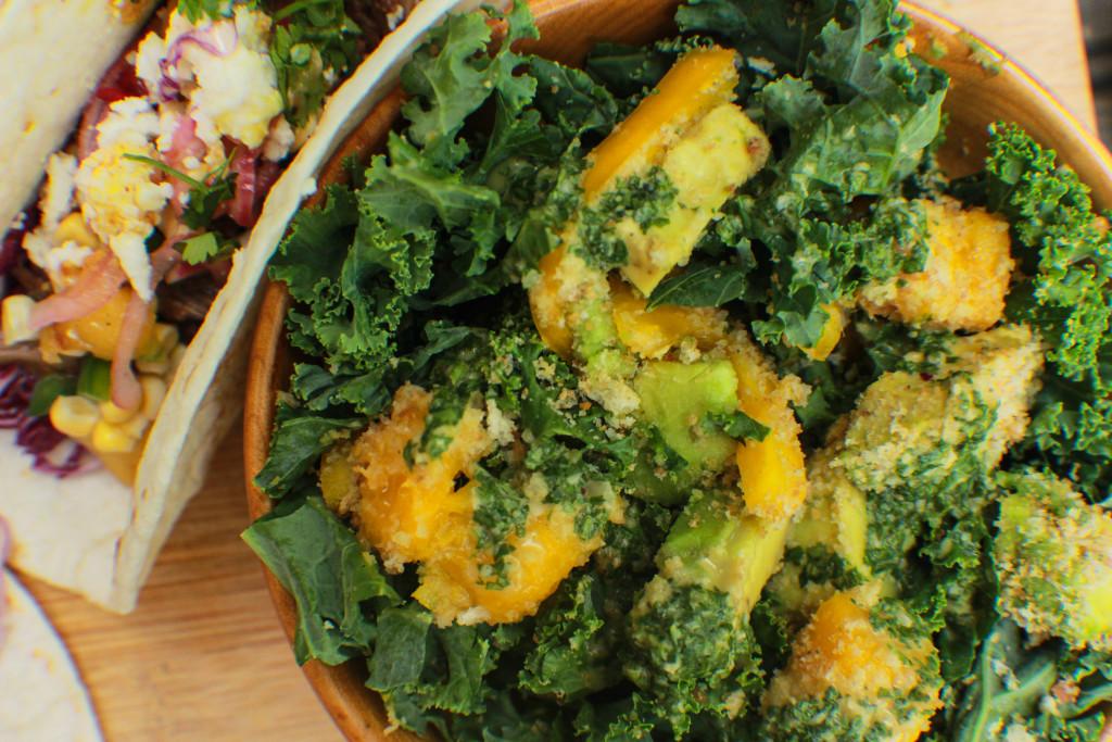 fresh, healthy, summer salad, salad, kale salad