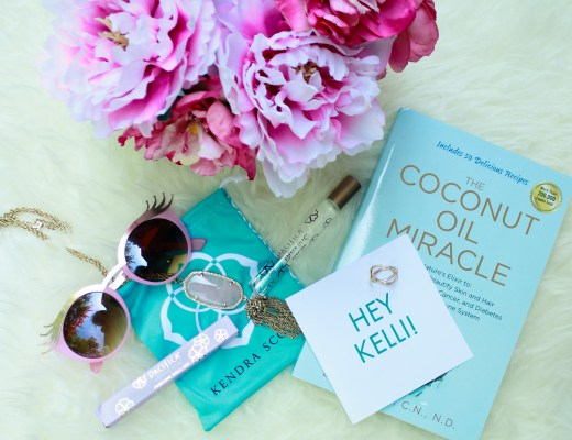 kendra scott, pave, rocks box, the coconut miracle, peonies, blogger