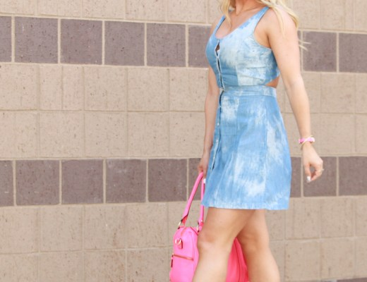 chambray, skater dress, indy blogger, indy style, what i wore, indy bloggers, indy blog society, booties, pop of color, how to style chambray, midwest blogger, summer style, casual