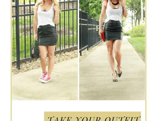 style blogger, style blog, wiw, indy blogger, leather skirt, zipper back pumps, midwest blogger, bblogger, black and white, indy style