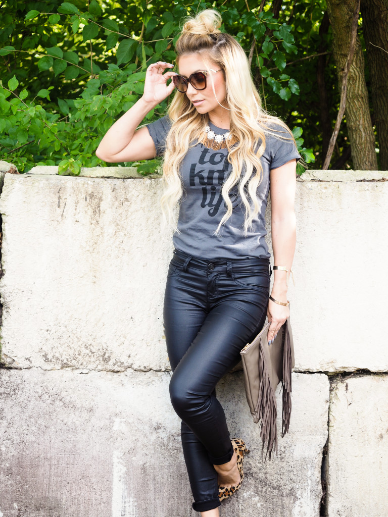 Made to order graphic tees! Support the top knot, and small business! (Shirt from Honeybeetrue Co.)