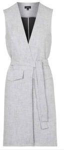 TopShop: Belted Sleeveless Jacket $95