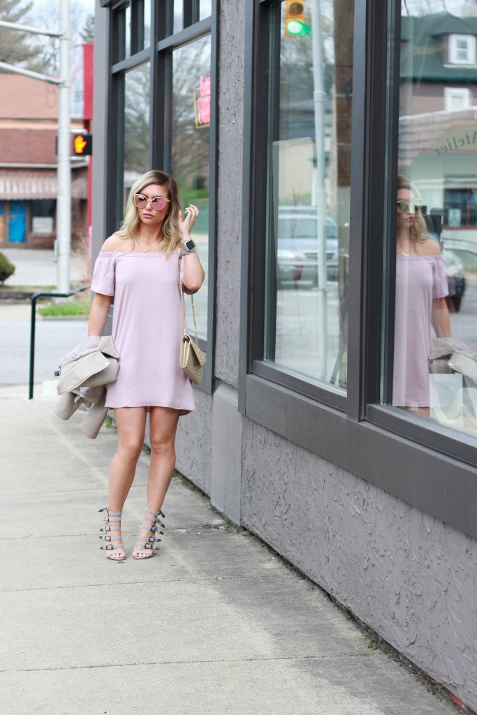 Blogger Style: OTS and strappy sandals.