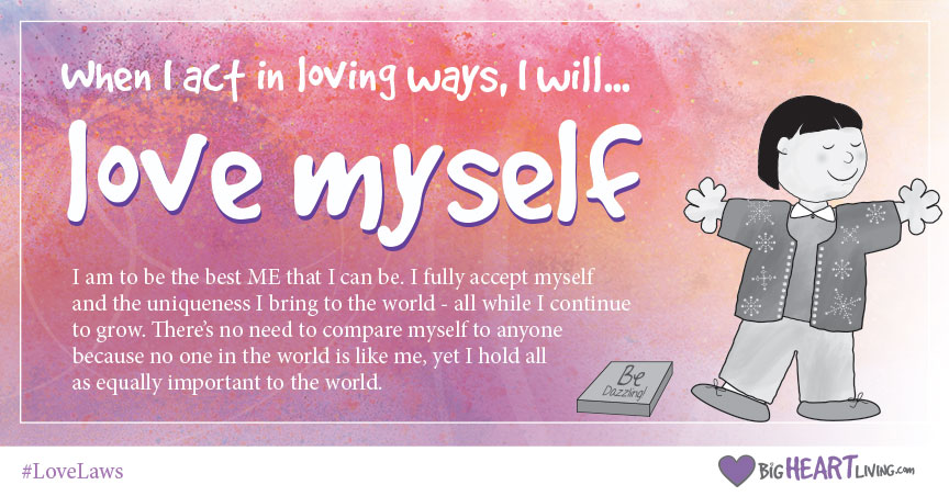 Love Law: I will Love Myself
