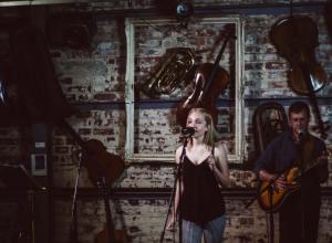 Ffion Rebecca @ Urban Coffee Company, Fargo Village Big Help Music Artist Development Music Without Boarders