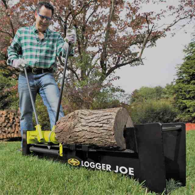 How to Use a Log Splitter Safely