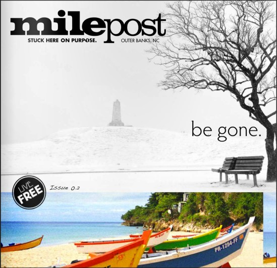 Milepost Magazine Cover Design