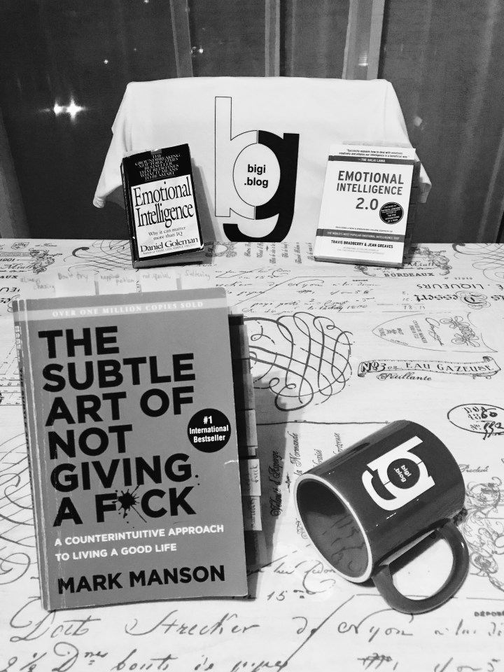 The Subtle Art of Not Giving a Fuck / Mark Manson