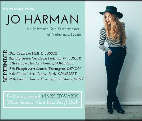 Jo Harman – Voice & Piano Tour