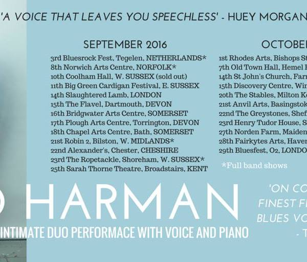 """""""A Voice That Leaves You Speechless"""" Huey Morgan, BBC Radio 2"""