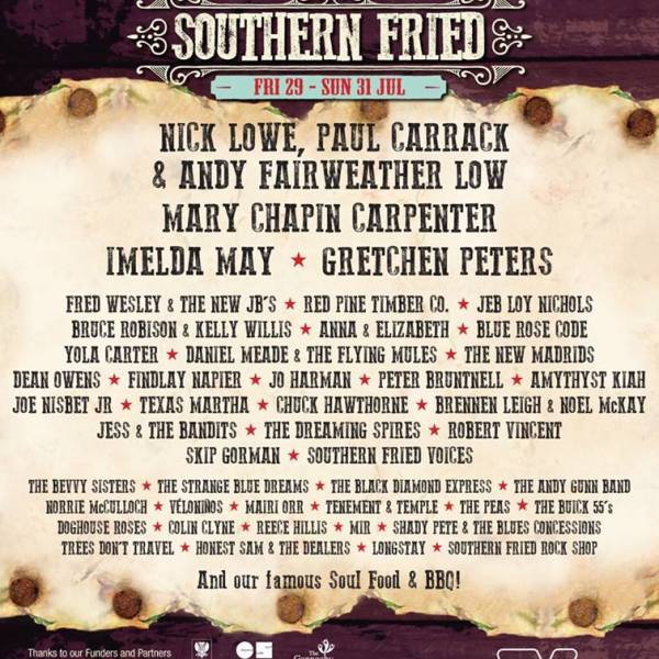 Jo Harman delighted to be part of The Southern Fried Festival THIS weekend