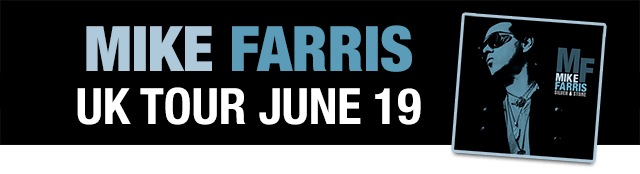 Mike Farris UK Tour 2019