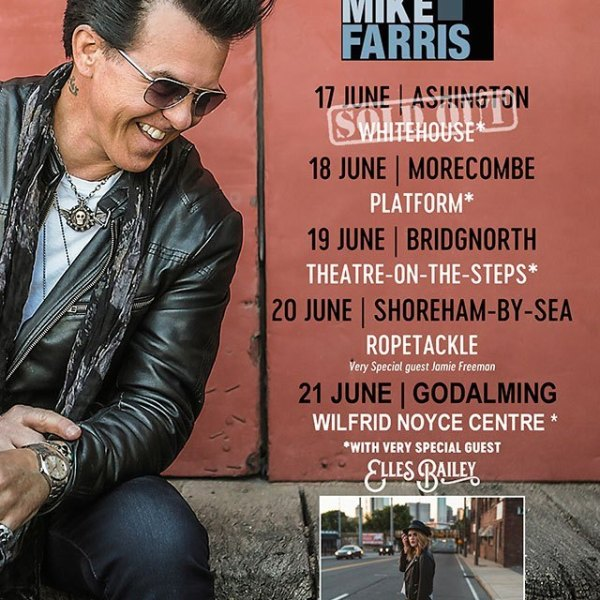 Mike Farris set to begin his UK tour next week