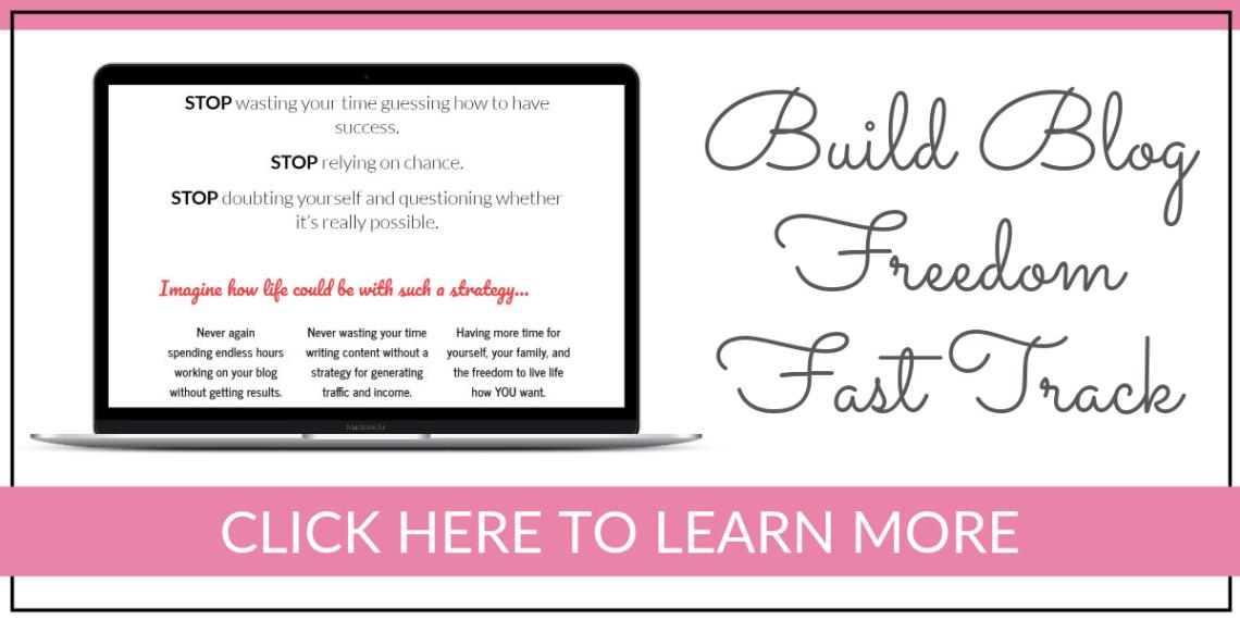 Build Blog Freedom Fast Track