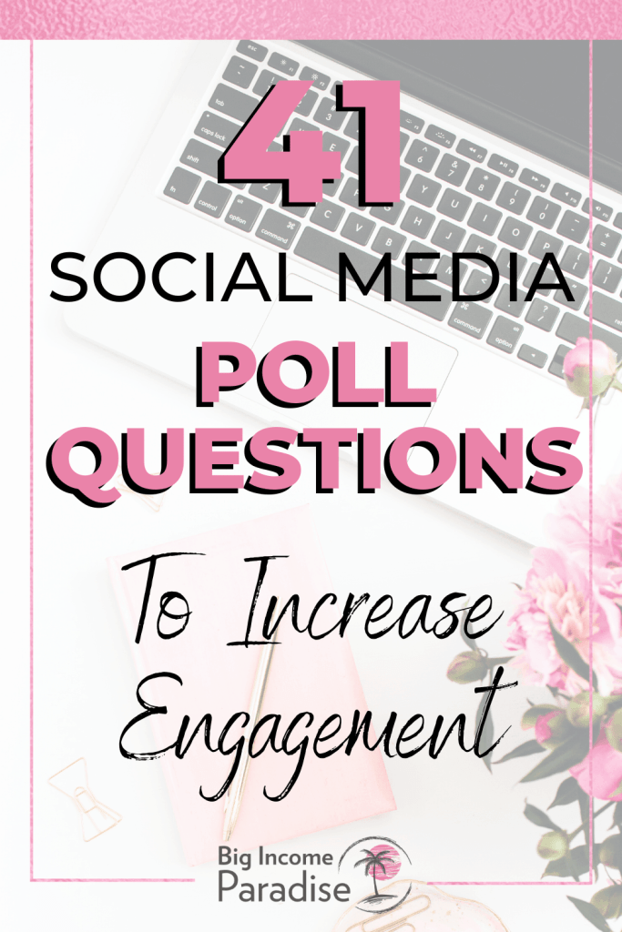 Poll questions for Social Media Engagement