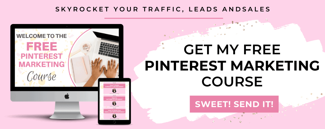 Free Pinterest Marketing Course From Big Income Paradise