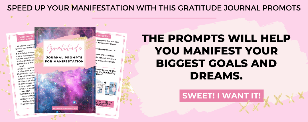 Gratitude Journal Prompts For Manifesting Your Goals