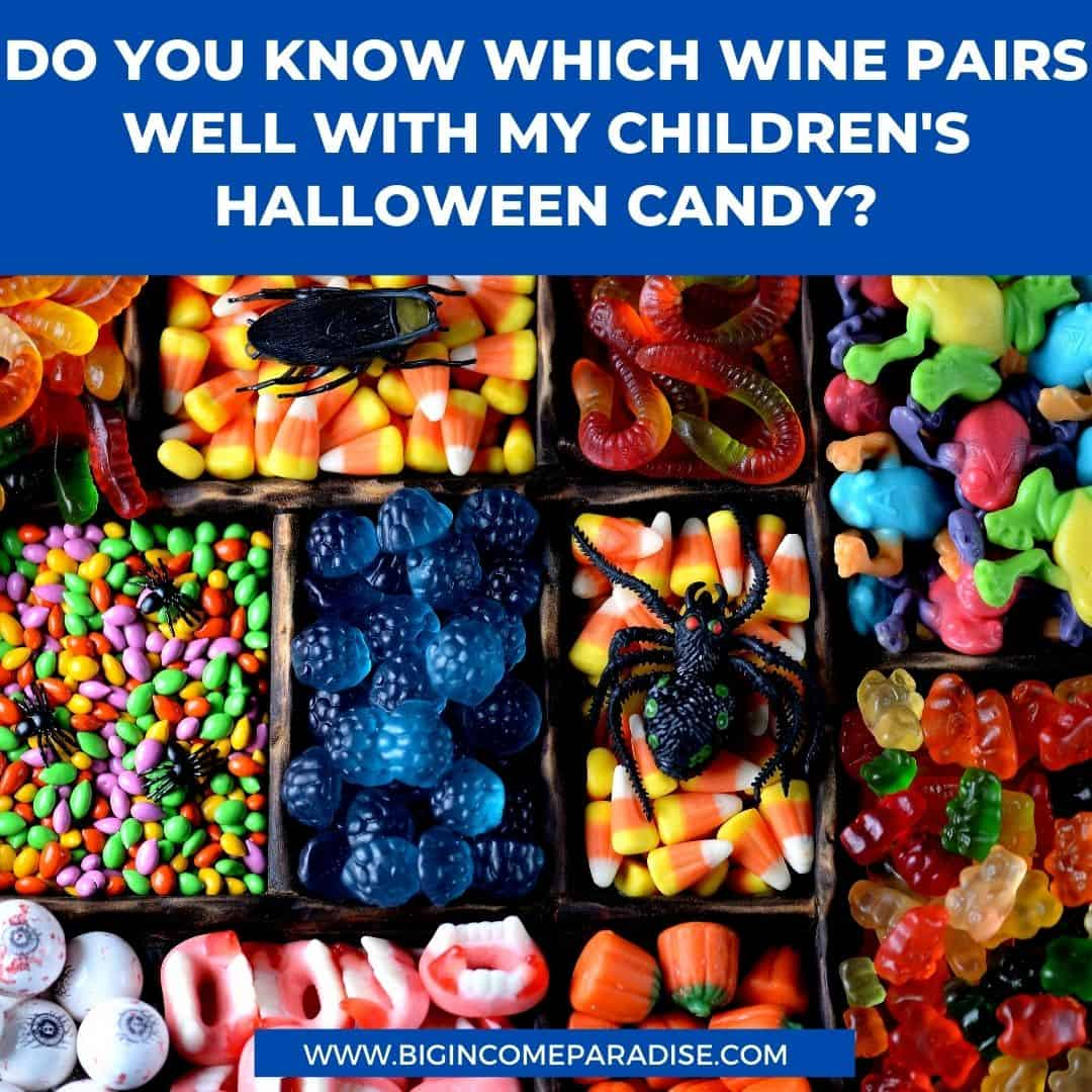 Do you know which wine pairs well with my children's Halloween candy - Funny Halloween memes