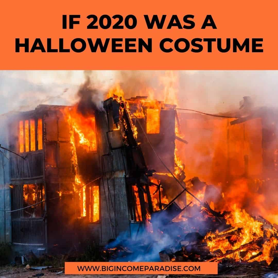 if 2020 was a Halloween costume - Funny Halloween memes