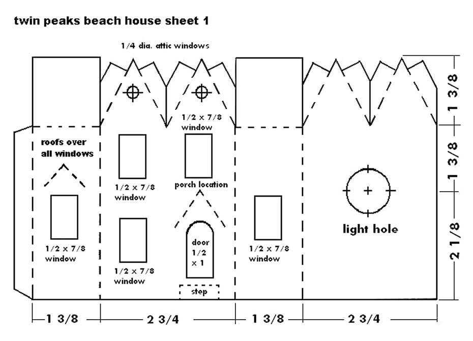 Building the Twin Peaks Beach House