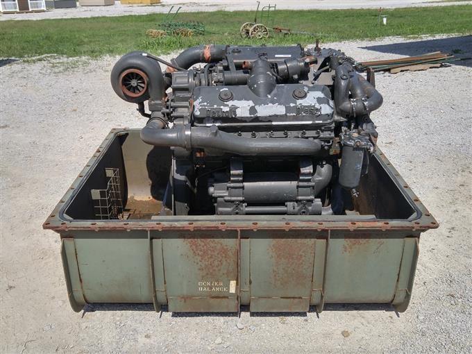 Diesel Detroit 2 Stroke V8