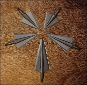 VPA 3 Blade Broadheads 100 Grain Non-Vented 3 Pack