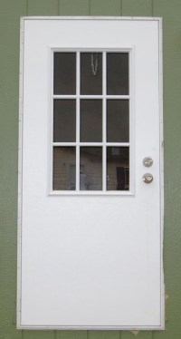 Mobile Home Exterior Back Door: Diy Out Swing Exterior ...