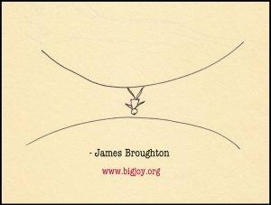james broughton upside down man