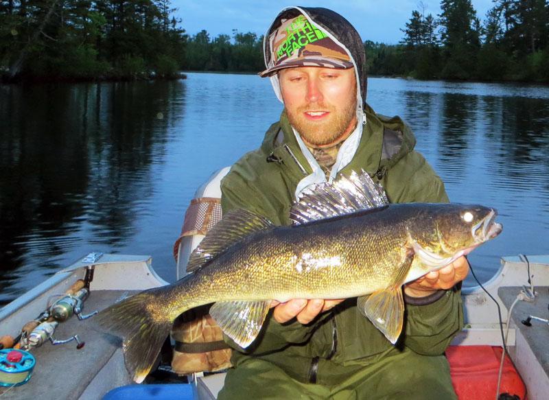 """21"""" Walleye Basswood Lake Boundary Water Canoe Area"""
