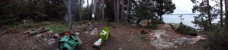 bwca campsite