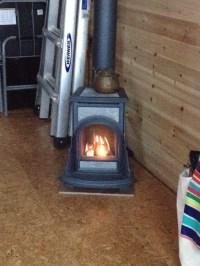 Heating Our Tiny House | BIG LAKE ~ tiny house