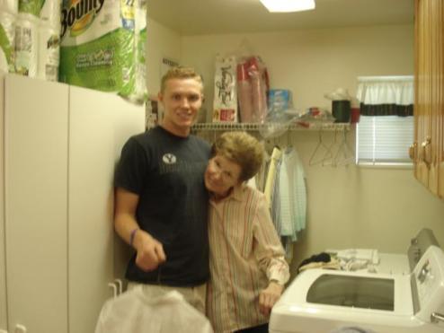 Always tender with his Grandma