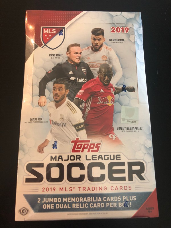Inside The Pack 2019 Topps Major League Soccer Mls Review Big League Breaks