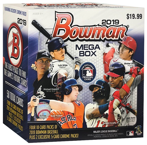 Inside The Pack Bowman Mega Boxes Are A Winning Formula For Topps