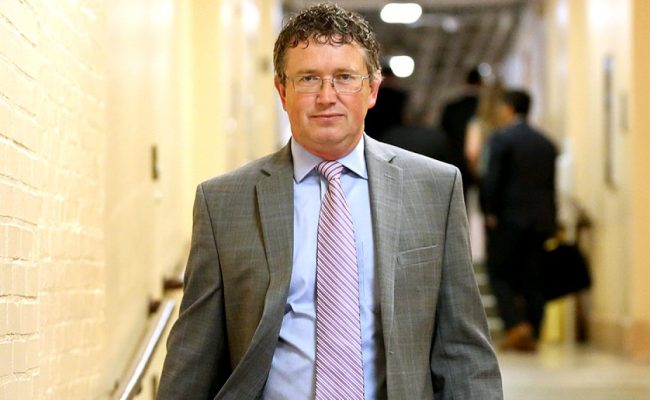 Exclusive Interview Rep Thomas Massie Stands Up For