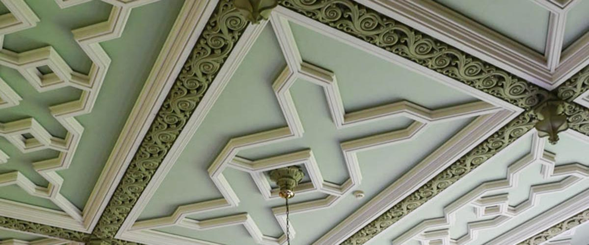 Baskerville Hall detail.