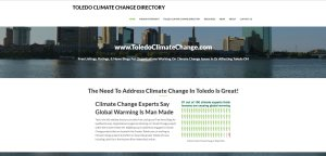 Website Design and SEO for Climate Change Group