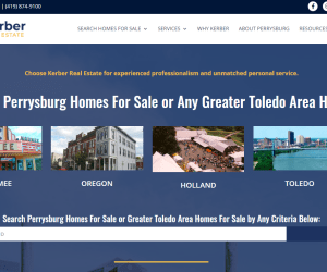 Welcoming New Real Estate Website Design / SEO Client From Toledo