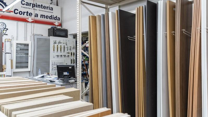 Productos de carpintería en Benidorm, Altea, Dénia y Callosa