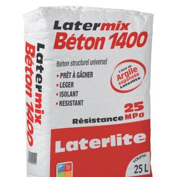 LATERMIX BETON 1400 SACO DE 25L POR 6,95€