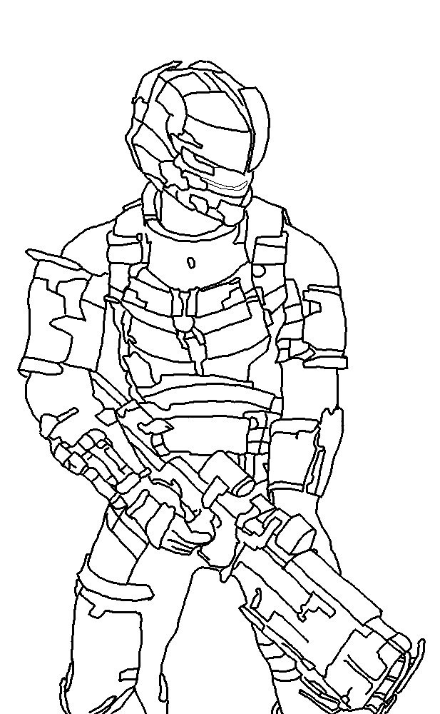 Dead Space Drawing