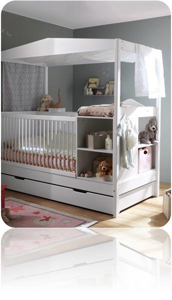 Pour dormir  Le lit  barreaux   Big M little m