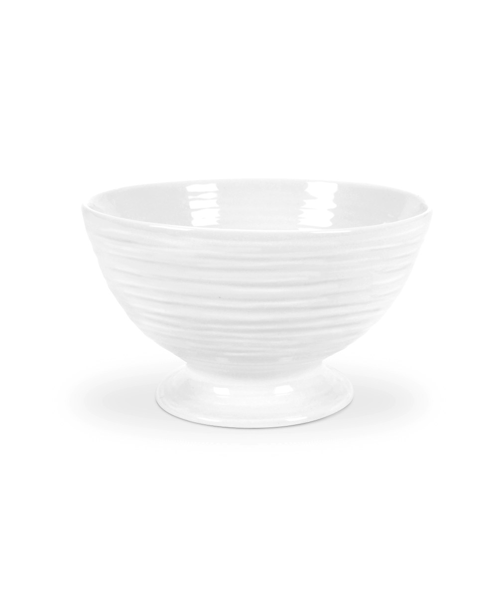 """Footed Bowl 3.25"""" White"""