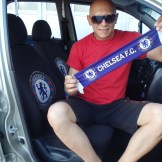 Alem and his Chelsea car