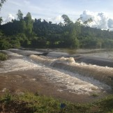 River beside the homestay village we visited (Luang Namtha, Laos)
