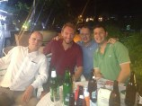 The Likely Lads - Dom, Jimmy, Leon and me (Bangkok, Thailand)