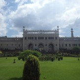 View inside from the entrance to Baba Imambara (Lucknow, India)